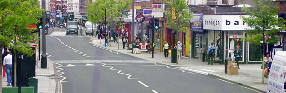 Walworth Road as good example