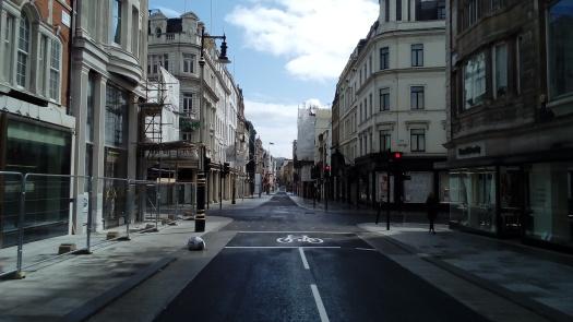 Deserted New Bond Street